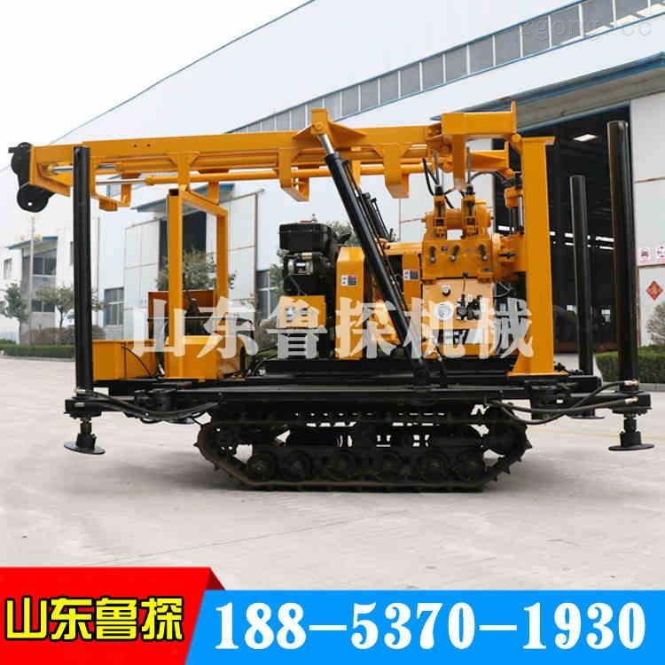 山东济宁液压履带式钻机XYD-3液压钻探机