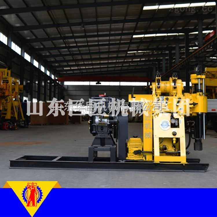 HZ-200Y液压水井钻机工程钻井机械设备