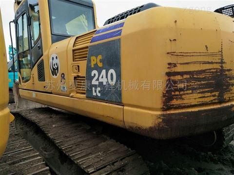 中型二手挖掘机土石方工程机械