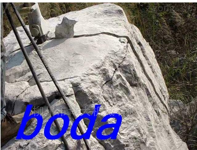 矿山岩石开采劈裂机,取代爆破