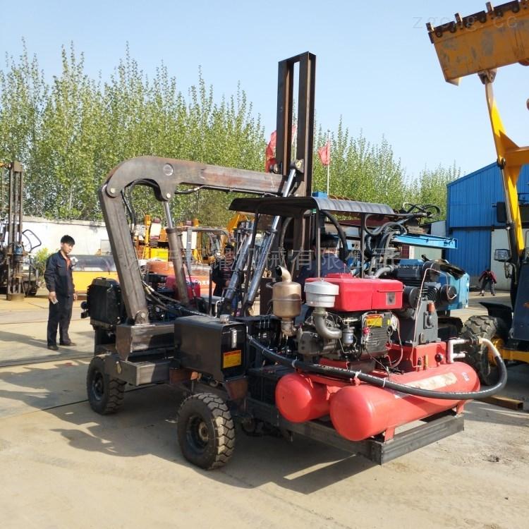 新耀机械产高速液压公路打拔一体机打桩机
