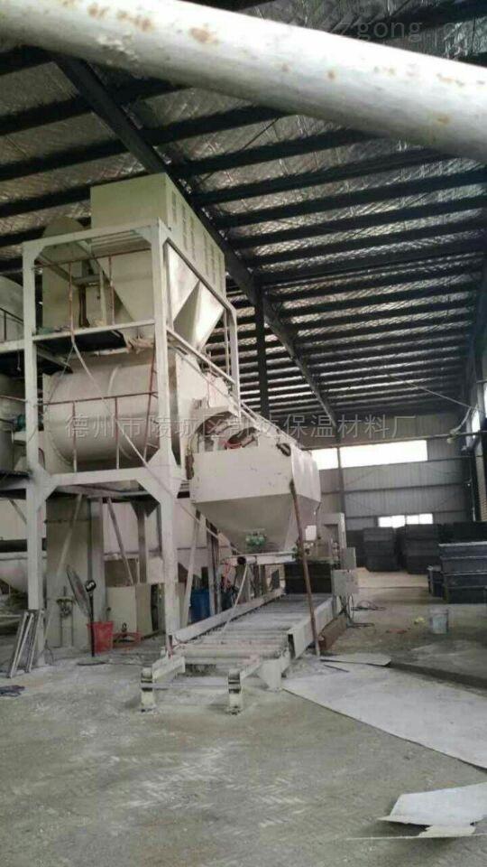 保温板生产设备聚苯颗粒匀质板设备报价