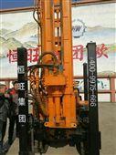 HQZ150履带打井机气动高效150米岩石钻机