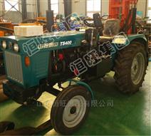 拖拉机式气动打井机小型车载气动钻机