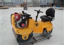自走式柴油小碾子 驾驶式双钢轮压地机品牌