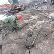 云南文山爆破混凝土岩石分裂机
