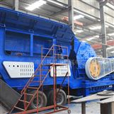 日产4000方石子生产线,玄武岩移动破碎技术