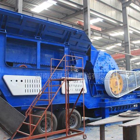 新型鹅卵石破碎,杭州轮胎式破碎机报价