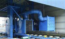 河北保定廠家現貨直銷 槽鋼拋砂除銹機