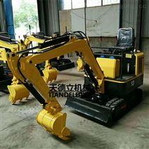 TDLW-10小型履带式液压挖掘机   挖坑机