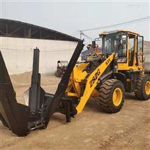 小型移树机带土球安装在铲车上方便DAN