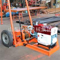 巨匠集团SH30-2A轮式工程钻机 小型取样钻机