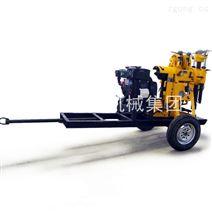 轮式岩芯钻机XYX-130拖挂液压勘探钻机