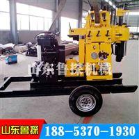 山东鲁探XYX-200轮式勘探钻机全自动钻井机