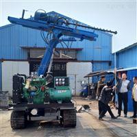 供应履带式5米锚固钻机 建筑工程护坡钻机