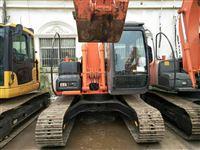 纯进口9成新二手挖掘机日立130中小型挖机